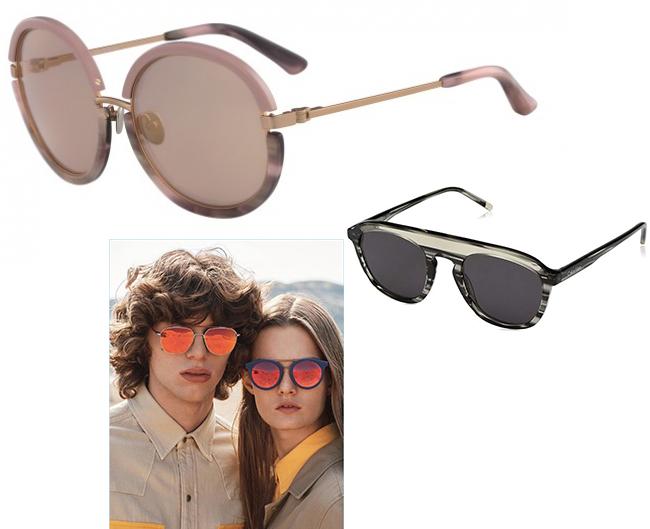 CK Calvin Klein zonnebrillen