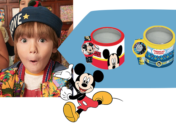 Mickey Mouse horloges