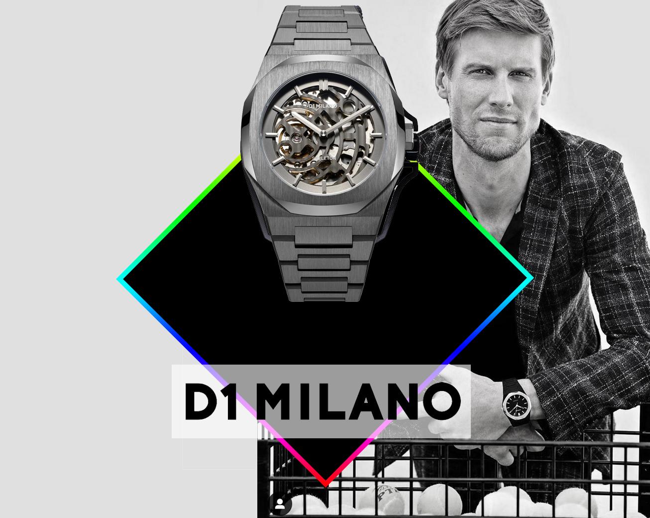 Horloges D1 Milano