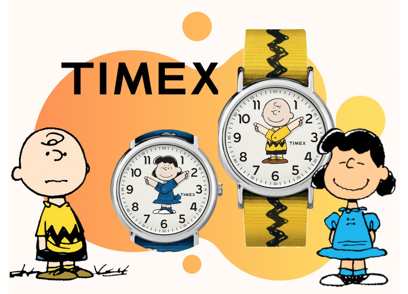 Timex Peanuts horloges